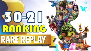 Ranking ALL 30 Rare Replay Games - Part 1 (30-21)