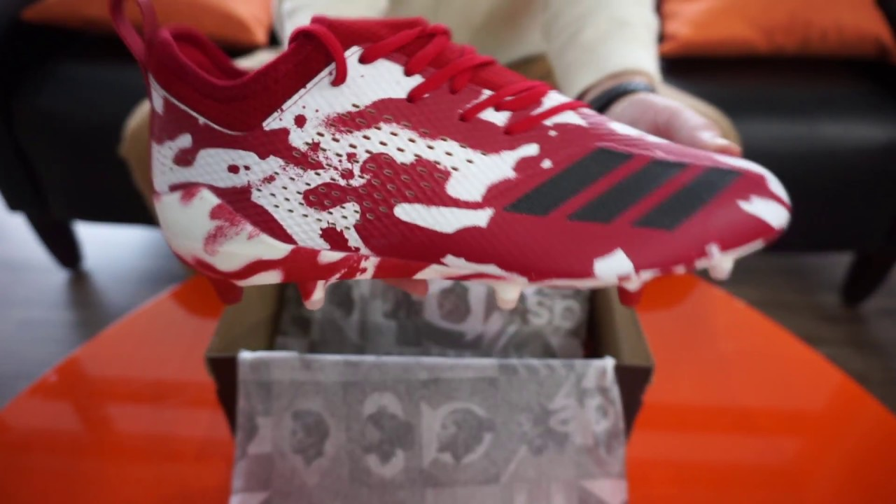 sale retailer 9c3a4 54e00 adidas Adizero 5 Star 7.0 CAMO Football Cleats SKU DB0624 - RevUp Sports  Unboxing