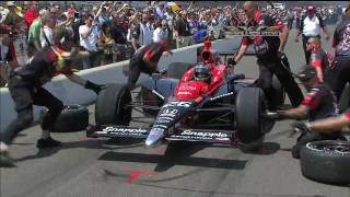 2010 IZOD Indy 500 Pitstop Challenge Highlights