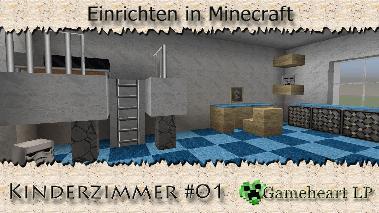 Minecraft kinderzimmer 01 einrichten in minecraft for Minecraft kinderzimmer