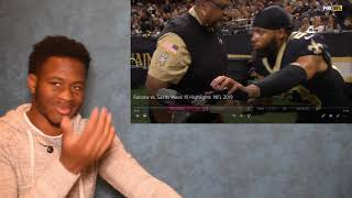 FALCONS WITH THE BIGGEST UPSET OF THE YEAR!! Falcons vs. Saints Week 10 Highlights | NFL 2019