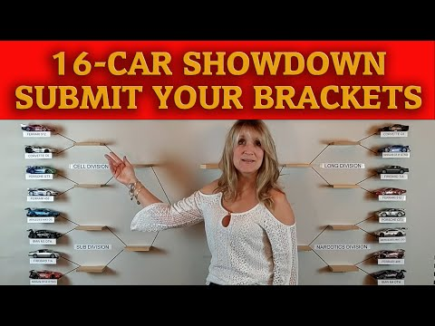 Slot Car Racing March Madness Tournament Preview – Submit Your Brackets – Carrera Digital 132