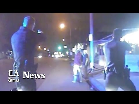 Newly released Gardena Police videos show officers killing unarmed man