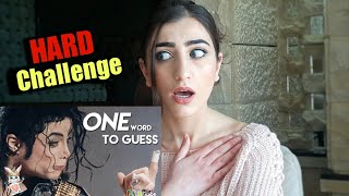 GUESS The Michael Jackson Song From One Word Challenge - Lucy Universe