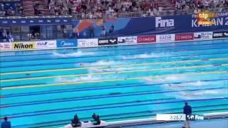 Мужчины Вольный стиль  Эстафета 4×200 метров   Kazan 2015   ЧМ 2015  Плавание