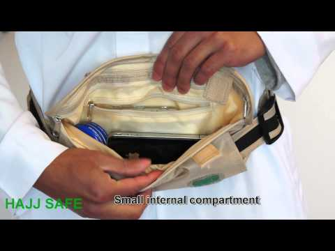 Hajj Safe Anti-Theft Waist Bag & Ihram Belt