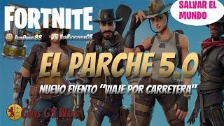 What's New in FORTNITE Patch 5.0 Save the World Survive the Horde
