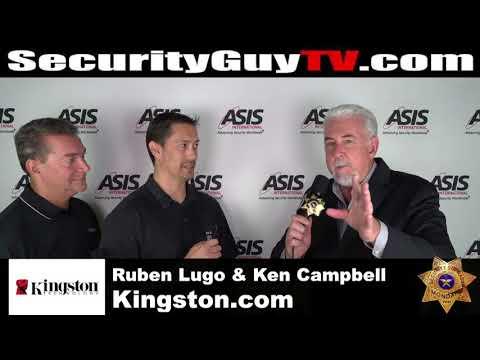 #504 Kingston.com with Ruben Lugo and Ken Campbell at #ASIS17 Dallas, Texas