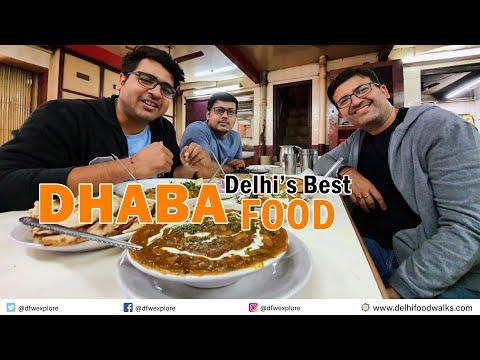 Delhi's BEST Dhaba Food - Ved Dhaba l Food Stories l Dal Fry + Baingan bharta + Chhena Pais