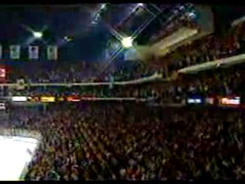 Chicago Blackhawks National Anthem 91 Playoffs game 1