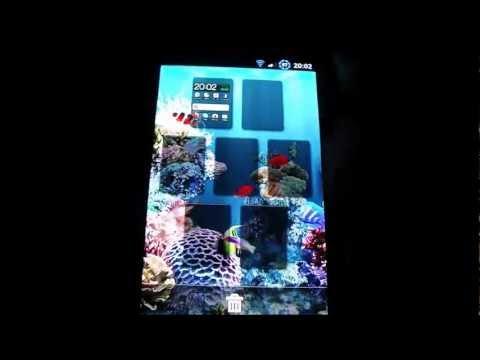 Aquarium Live Wallpaper Android + Download (HD)