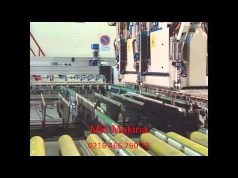 Mkt Makina Morbidelli A900 Hat Tipi Cnc Delik Makinası Ve Mahros Otomasyon