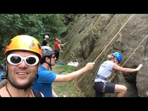 Weekendje klimmen ibbenburen