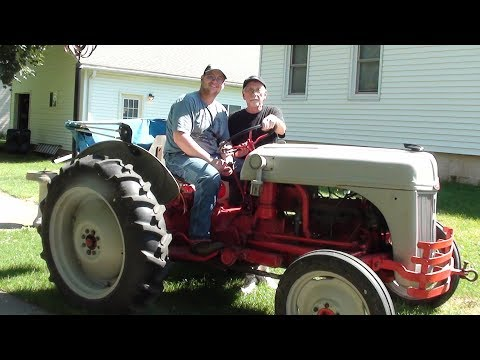 Servicing the FORD 8N Tractor tubalcain 9n