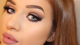 w7 in the night eyeshadow palette   makeup tutorial