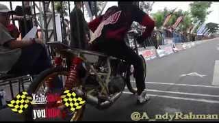 AHRS Indonesia Drag bike Championship kelas 2 Tak 140 TU AHRS Series 4 bantul