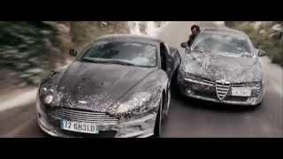 Джеймс Бонд: Квант Милосердия (погоня на Aston Martin)