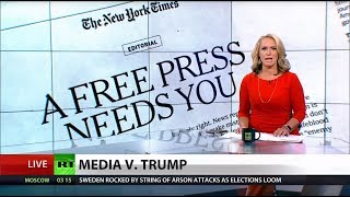 News Outlets Publish Joint Editorials Against Trump's Media Attacks