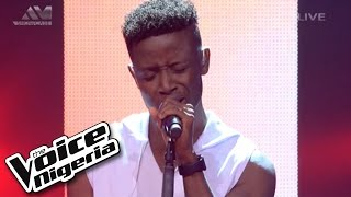"Chike sings ""Earned It"" / Live Show / The Voice Nigeria 2016"