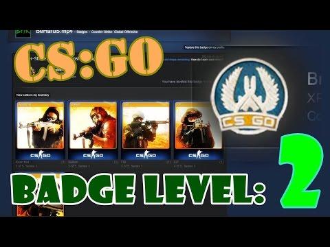 Steam CS:GO Badge level [2/6] | Brass Recruit