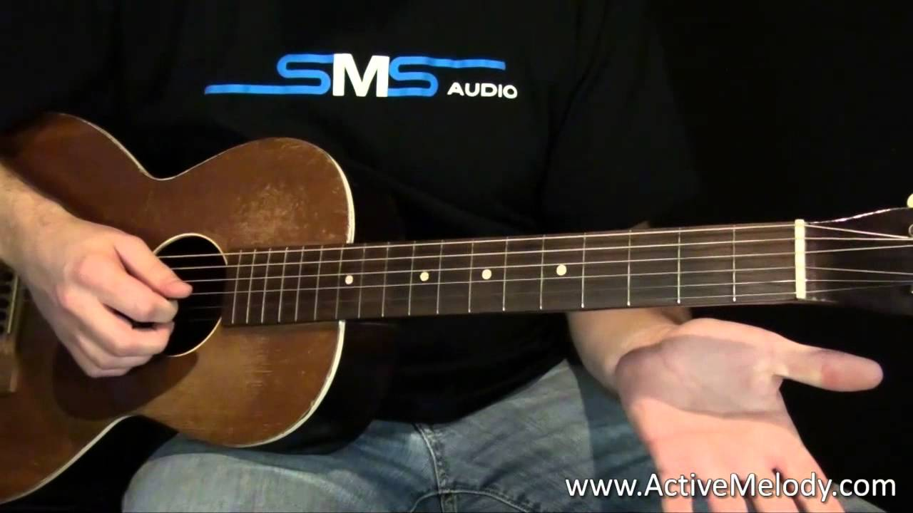 Acoustic Blues Guitar Lesson Youtube