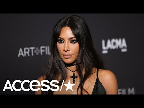 Kim Kardashian Admits She Sleeps With Her Makeup On 'All The Time' | Access