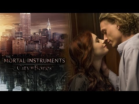 Lily Collins & Jamie Campbell Bower Talk Playing Clary & Jace in The Mortal Instruments