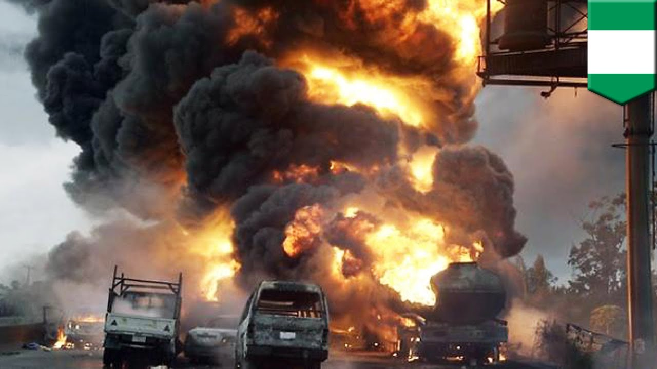 Image result for Nigerian tanker explodes
