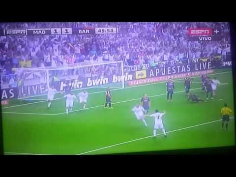 Real Madrid 3 Barcelona 1 Relato Miguel Simon ESPN+