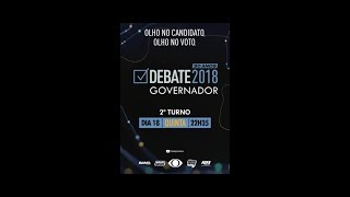 Debate Band Minas 2018 - Governador - 18/10/2018
