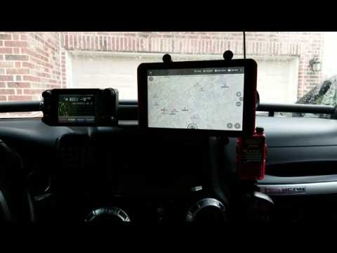 FTM-400xdr APRS With APRSdroid/Backcountry Navigator