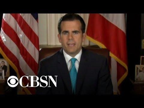 Puerto Rico Governor Ricardo Rosselló resigns