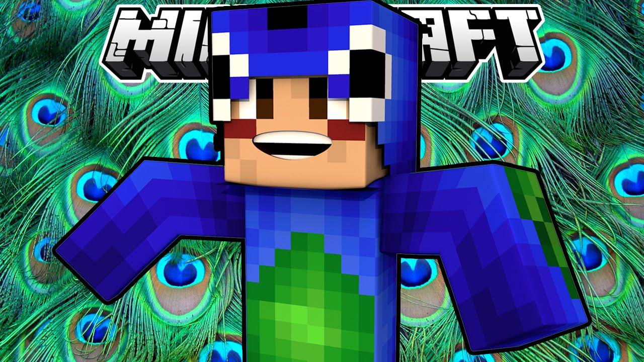 Minecraft Peacock Build