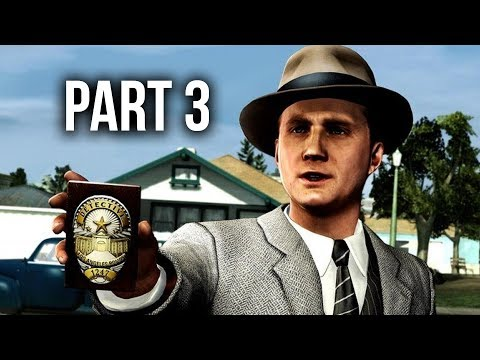 LA Noire Remastered Gameplay Walkthrough Part 3 - THE DRIVER'S SEAT (Xbox One X)