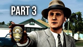 LA Noire Remastered Gameplay Walkthrough Part 3 - THE DRIVER