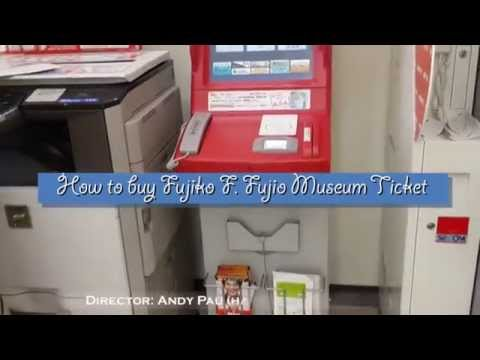 how to buy fujio museum ticket