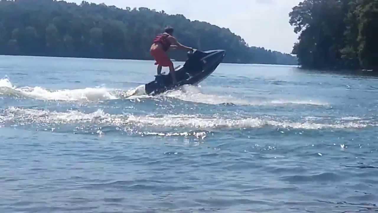 89 Kawasaki 650 Ts Modded Having Fun At The Lake Youtube