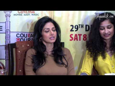 Catch the exclusive interview with Gauri Shinde and Sridevi!
