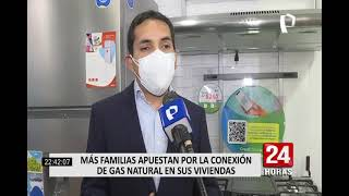 Más familias apuestan por la conexión de gas natural en sus viviendas