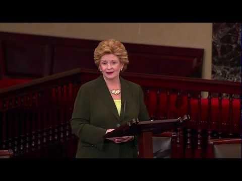 Michigan Senator Debbie Stabenow on the Paycheck Fairness Act