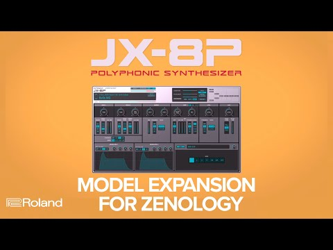 Introducing Roland JX-8P Model Expansion for ZENOLOGY Software Synthesizer