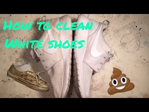 How to Clean White Shoes (CHEAPEST METHOD)