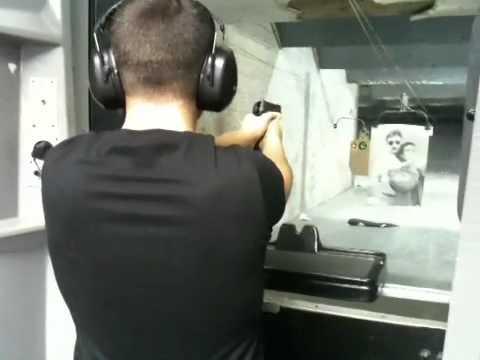 HK P2000 40.cal At The Range