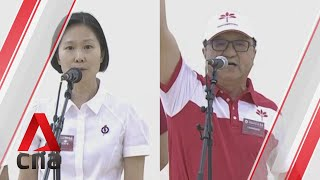 Ge2020: Pap, Psp Candidates For Marymount Smc Address Supporters On Nomination Day