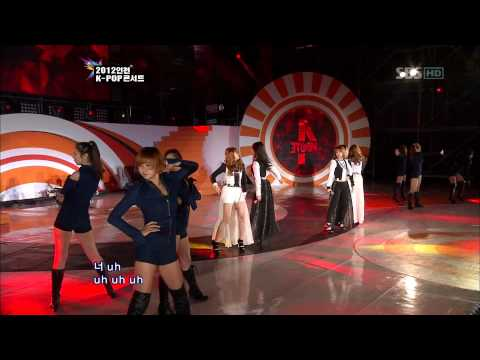 4Minute - Volume Up [SBS 2012 Incheon K-Pop Concert]  Live HD