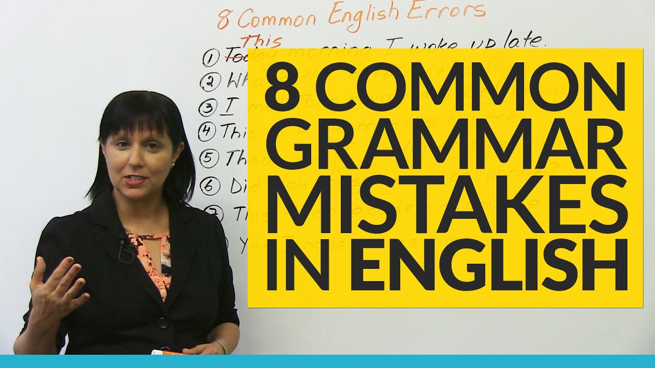 ten most common grammar mistakes