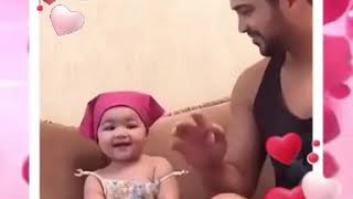 Funny baby dance