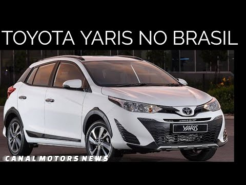 novo toyota yaris 2018 2019 no brasil youtube. Black Bedroom Furniture Sets. Home Design Ideas