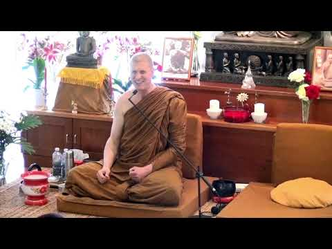 Ajahn Chandako Discusses Meditation at Dhammagiri Hermitage, Brisbane