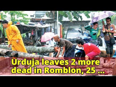 Urduja leaves 2 more dead in Romblon, 25 others missing in Biliran landslide